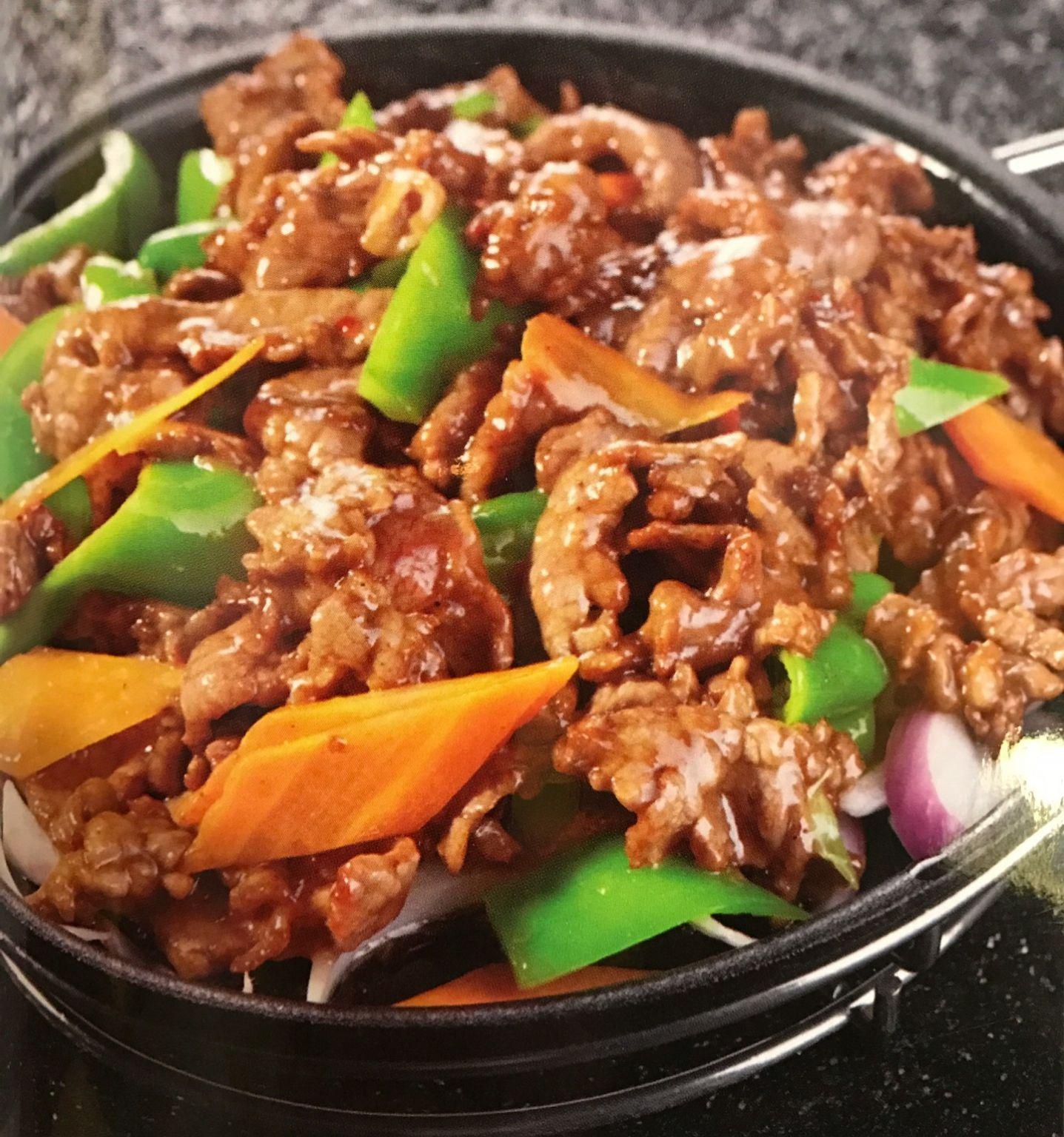 Филе говядины на сковороде