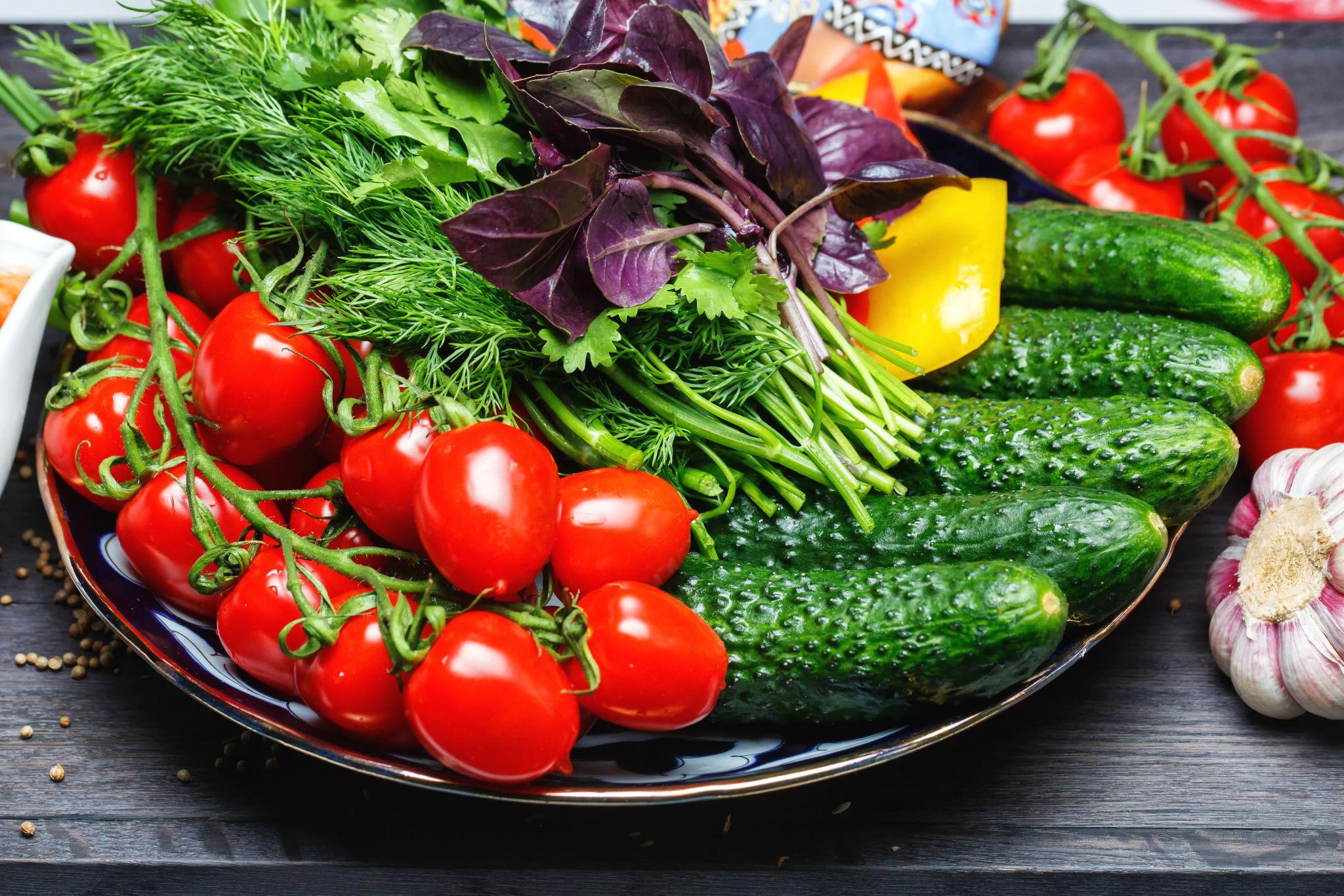 Овощное ассорти 300 гр.