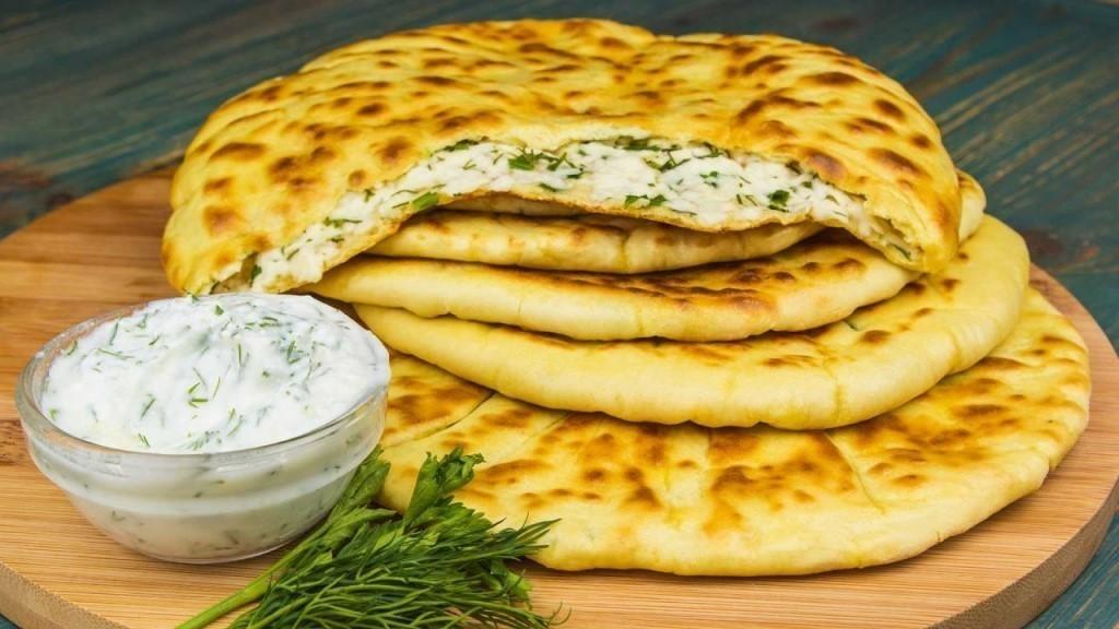 Хычин с сыром и зеленью 195гр.