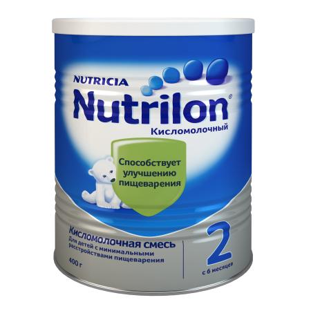 Смесь Nutrilon 2 кисломолочная 400г с 6месяцев