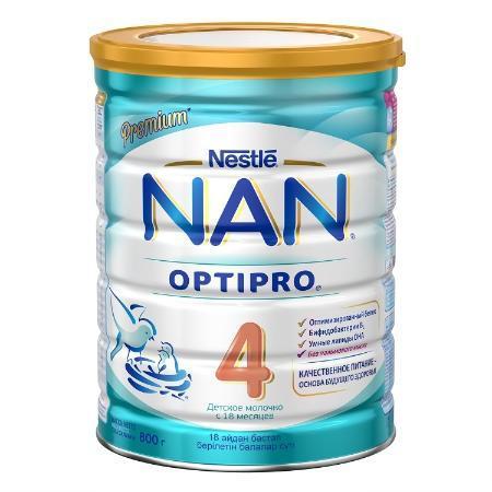 Молочко Nestle NAN 4 800г с 18месяцев