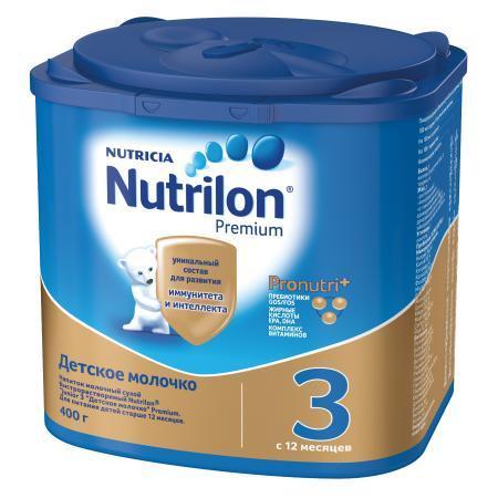 Молочко Nutrilon 3 Junior 400г с 12месяцев