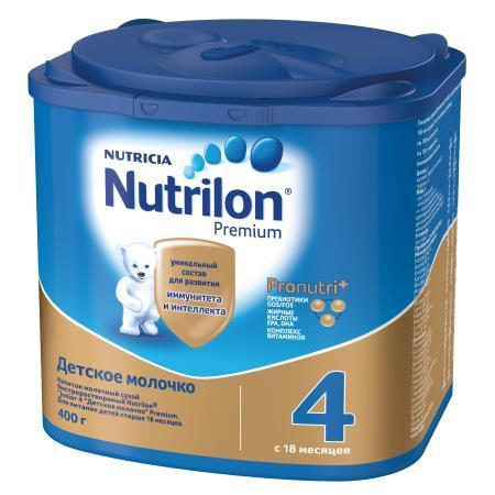 Молочко Nutrilon Junior 4 400г с 18месяцев