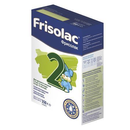 Смесь Friso Frisolac 2 сухая молочная с 6 месяцев 350 г
