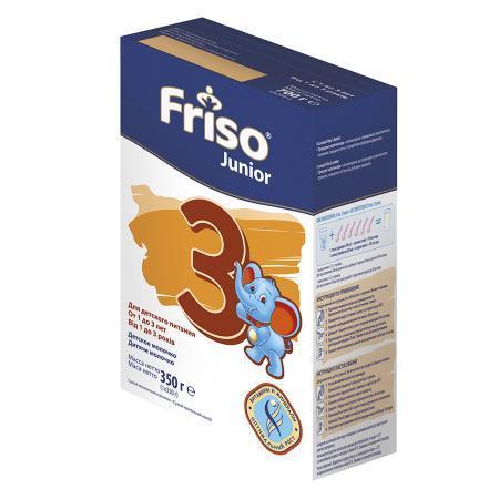 Смесь Friso Frisolac 3 сухая молочная с 1 года 350 г