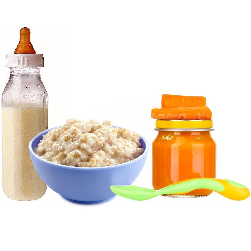 Детское питание и молочные смеси