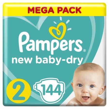 Подгузники Pampers New Baby-Dry Mini (3-6 кг) 144 шт