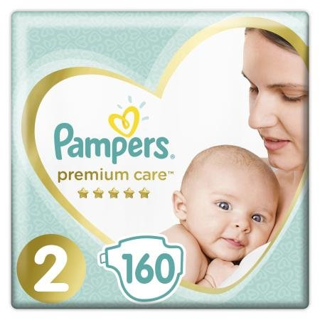 Подгузники Pampers Premium Care New Baby 2 4-8кг 160шт