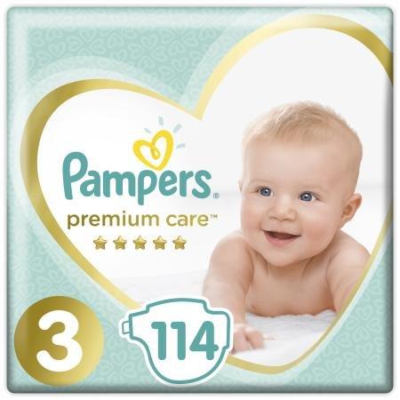 Подгузники Pampers Premium Care Midi 3 6-10кг 114шт