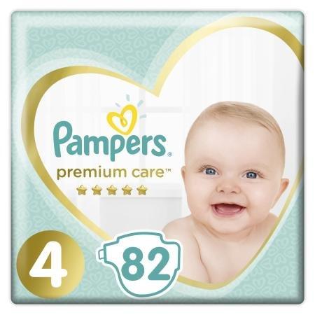 Подгузники Pampers Premium Care Maxi 4 9-14кг 82шт