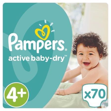 Подгузники Pampers Active Baby 9-16кг Джайнт 70шт