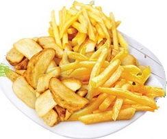 Картофель фри в ассортименте