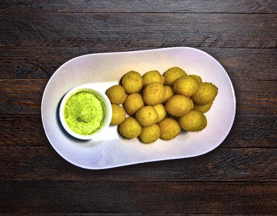 Картофельные шарики + соус Фирменный