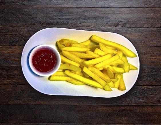 Картофель ФРИ + соус Томатный
