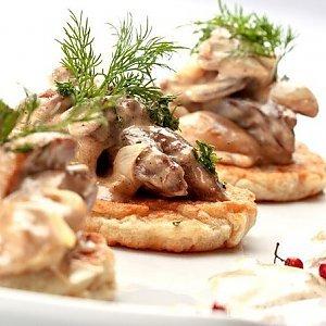 драники с грибами