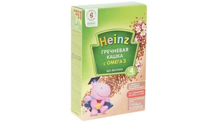 Каша [Heinz безмолочная гречневая с 4 месяцев, 200 г., 1 шт.]