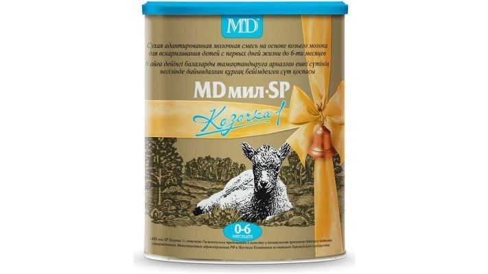Молочная смесь [MD Мил Козочка 1 0-6 месяцев, 400 г, 1 шт.]