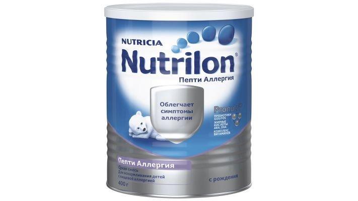 Молочная смесь [Nutrilon Пепти Аллергия 0-12 месяцев, 400 г, 1 шт.]