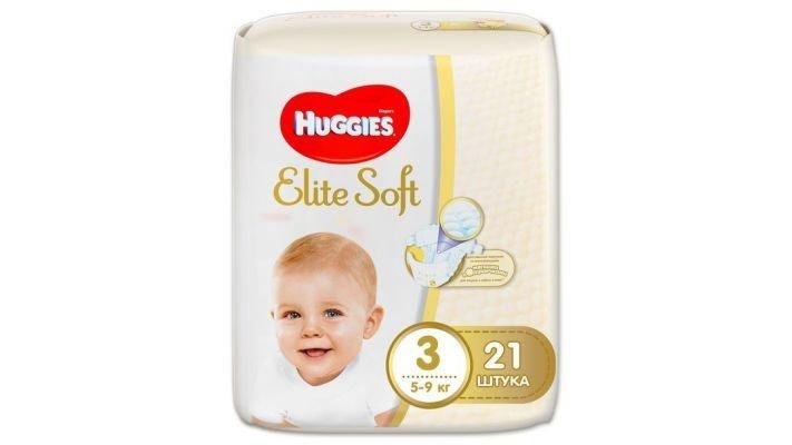 Подгузники [Huggies Elite Soft 3]