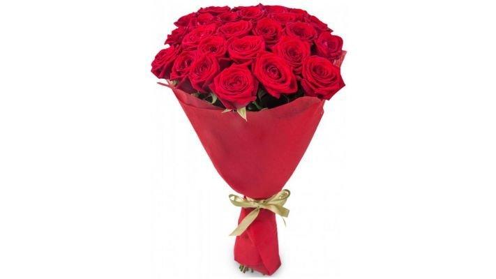 Букет [из 21 розы, 60 см.]