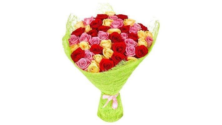 Букет [из 41 розы, 60 см.]