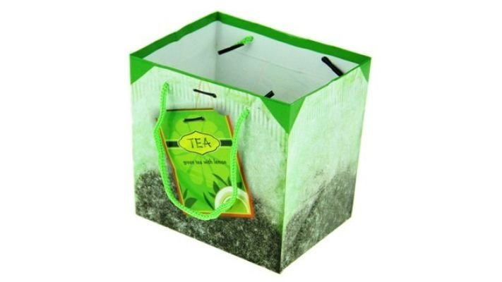 """Бумажный пакет """"Чайная жизнь"""""""