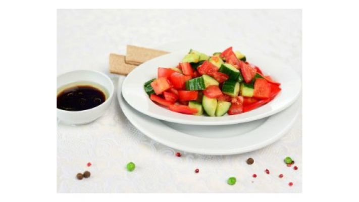 Салат [овощной (спорт)]