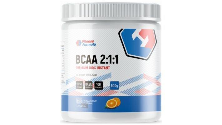 Fitness Formula [100% BCAA 2:1:1 Premium]