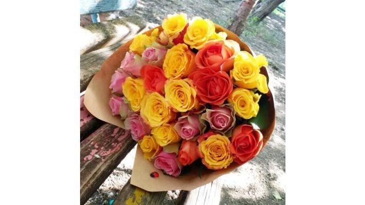 Букет [из  27 роз]