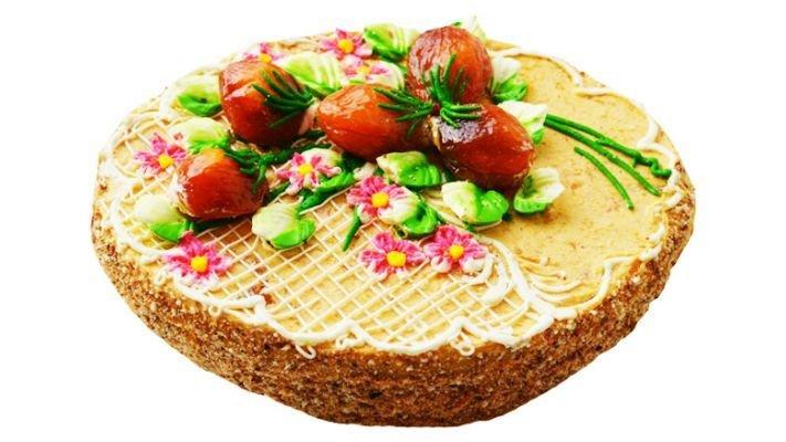 Торт [песочно-абрикосовый]