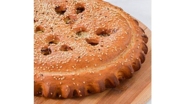 Пирог [с мясом и сыром, 1кг.]