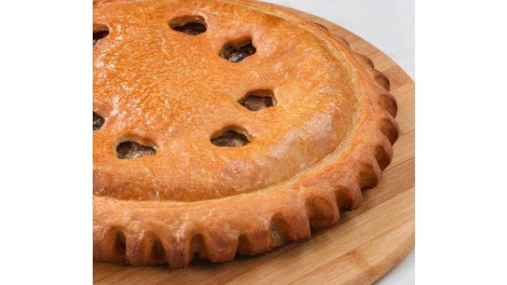 Пирог [с мясом и баклажанами, 1кг.]