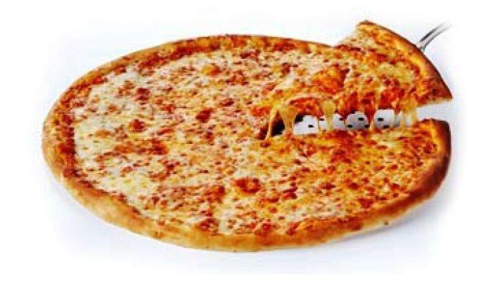 Пицца [Сырная Маргарита, 1 кусок]
