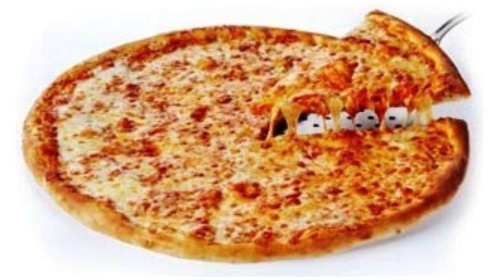 Пицца [Сырная Маргарита, 44 см.]