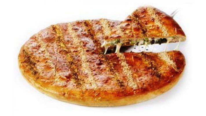 Пицца Закрытая [шпинат с рикоттой, 1 кусок]