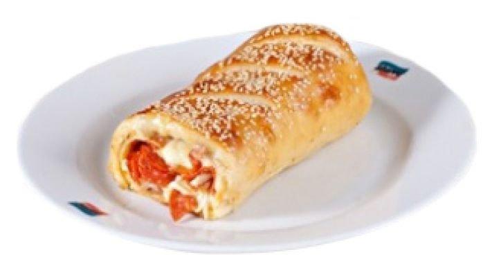 Пицца-рулет Стромболи [с пепперони и грибами]