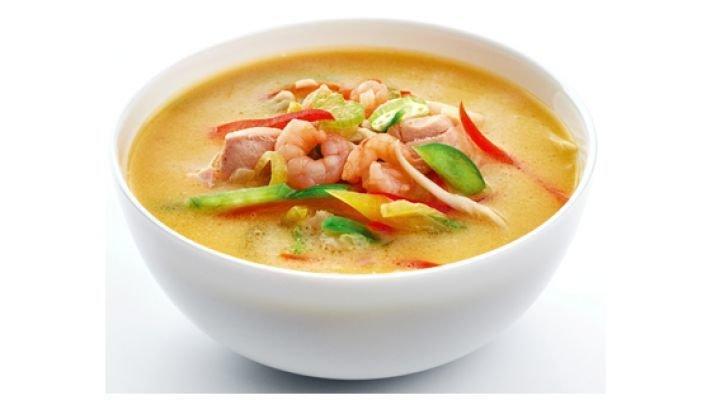 Суп [с морепродуктами]