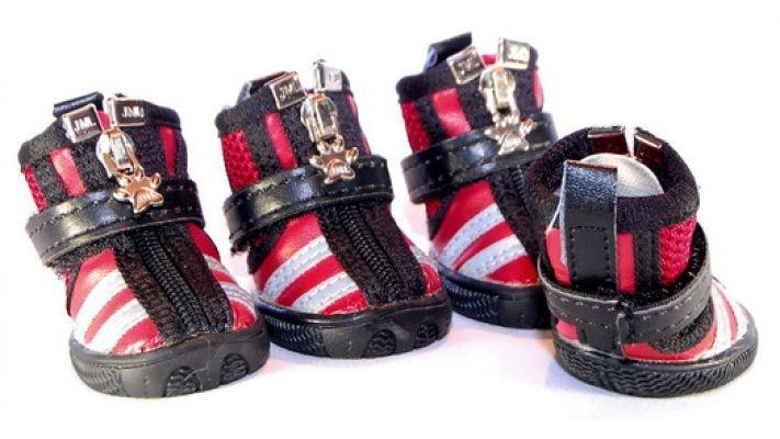Ботиночки [для собаки XB0907-red]