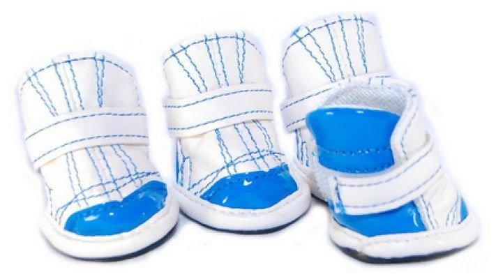 Ботиночки [для собаки XC1002-blue]