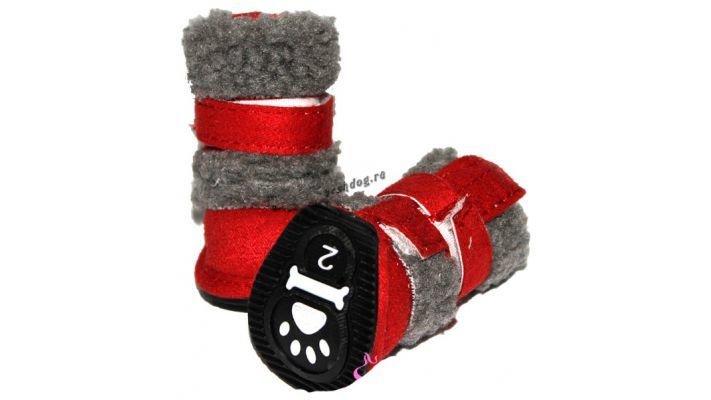 Зимние удобные [ботинки для собак]