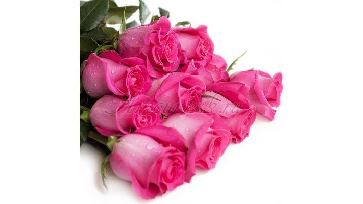 Роза [Топаз розовая, 50 см.]