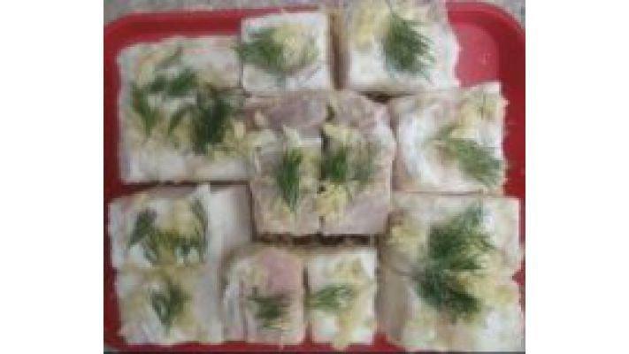 Сало [соленое с чесноком]
