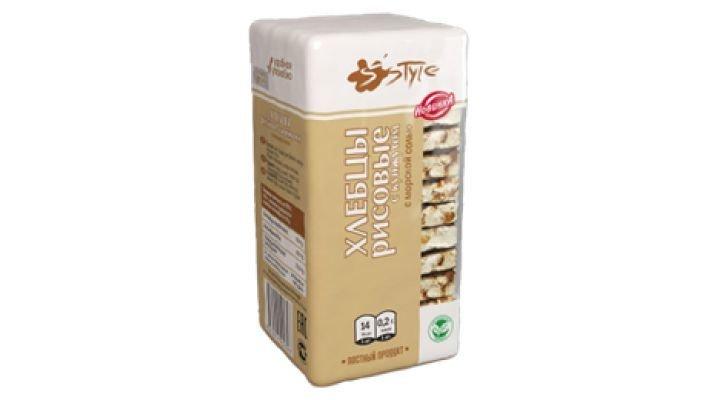 Хлебцы [рисовые с кунжутом и морской солью, 60 гр.]