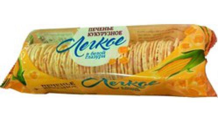 Кукурузное печенье [Лёгкое, 145 гр.]