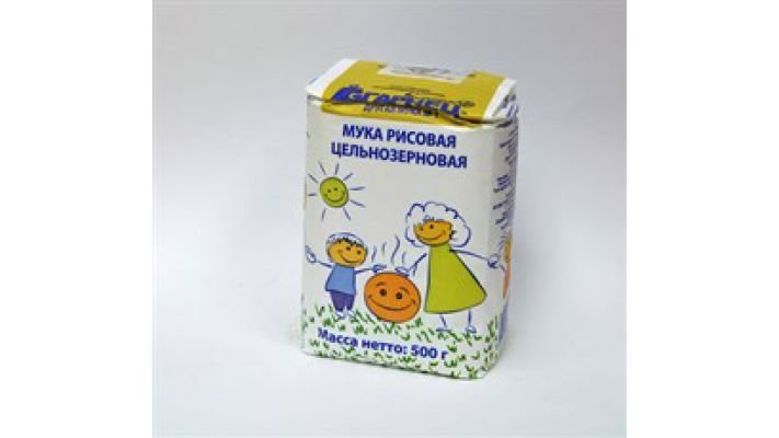 Мука [рисовая цельнозерновая, 500 гр.]
