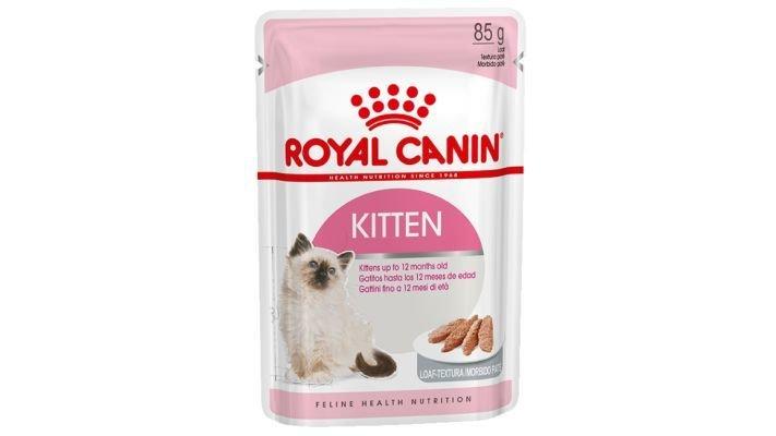Влажный корм [для котят ROYAL CANIN KITTEN INSTINCTIVE паштет, 85 гр.]