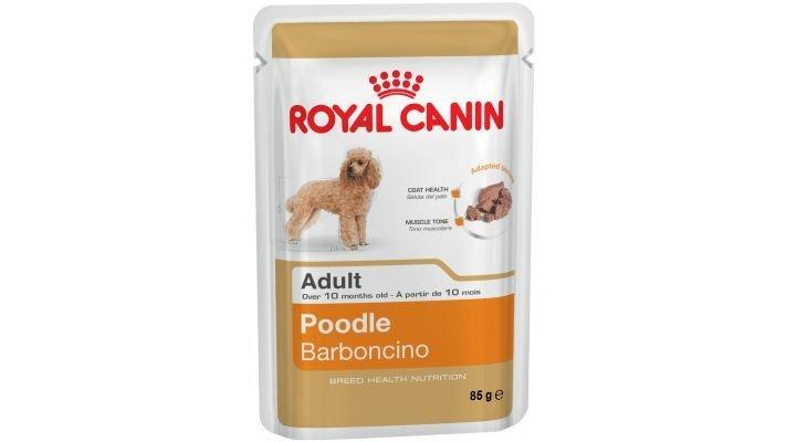 Влажный корм [для собак ROYAL CANIN ADULT POODLE, ( паштет) пудель 85 гр.]