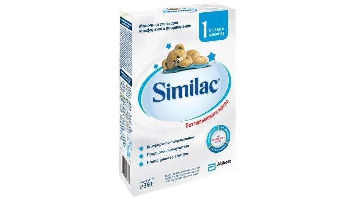 Молочная смесь [Similac 1 0-6 месяцев, 350 г, 1 шт.]