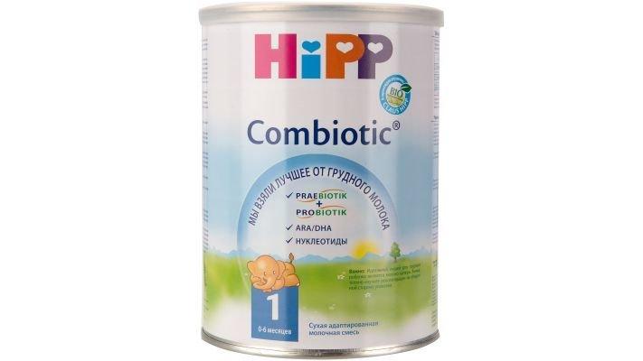 Молочная смесь [Hipp Combiotik 1 0-6 месяцев, 350 г, 1 шт.]