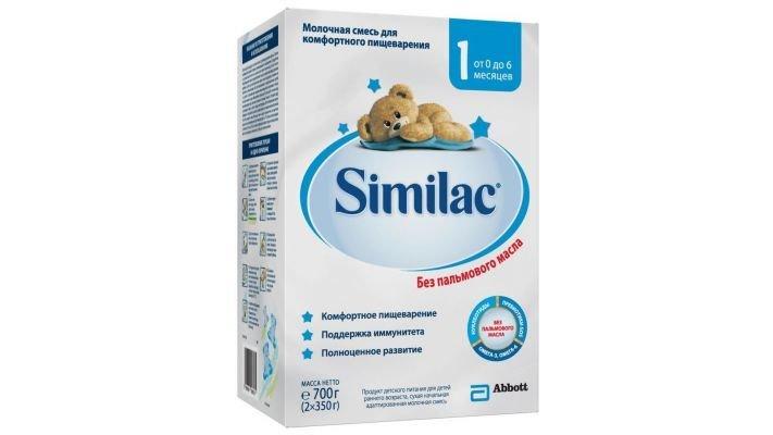 Молочная смесь [Similac 1 0-6 месяцев, 700 г, 1 шт.]